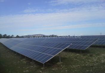 Photovoltaik-Freiflächenanlage Belvézet