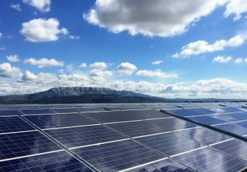 Photovoltaik-Freiflächenanlage Gardanne