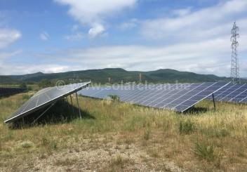 Photovoltaik-Freiflächenanlage Valence