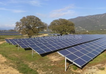 Ferme solaire Corse